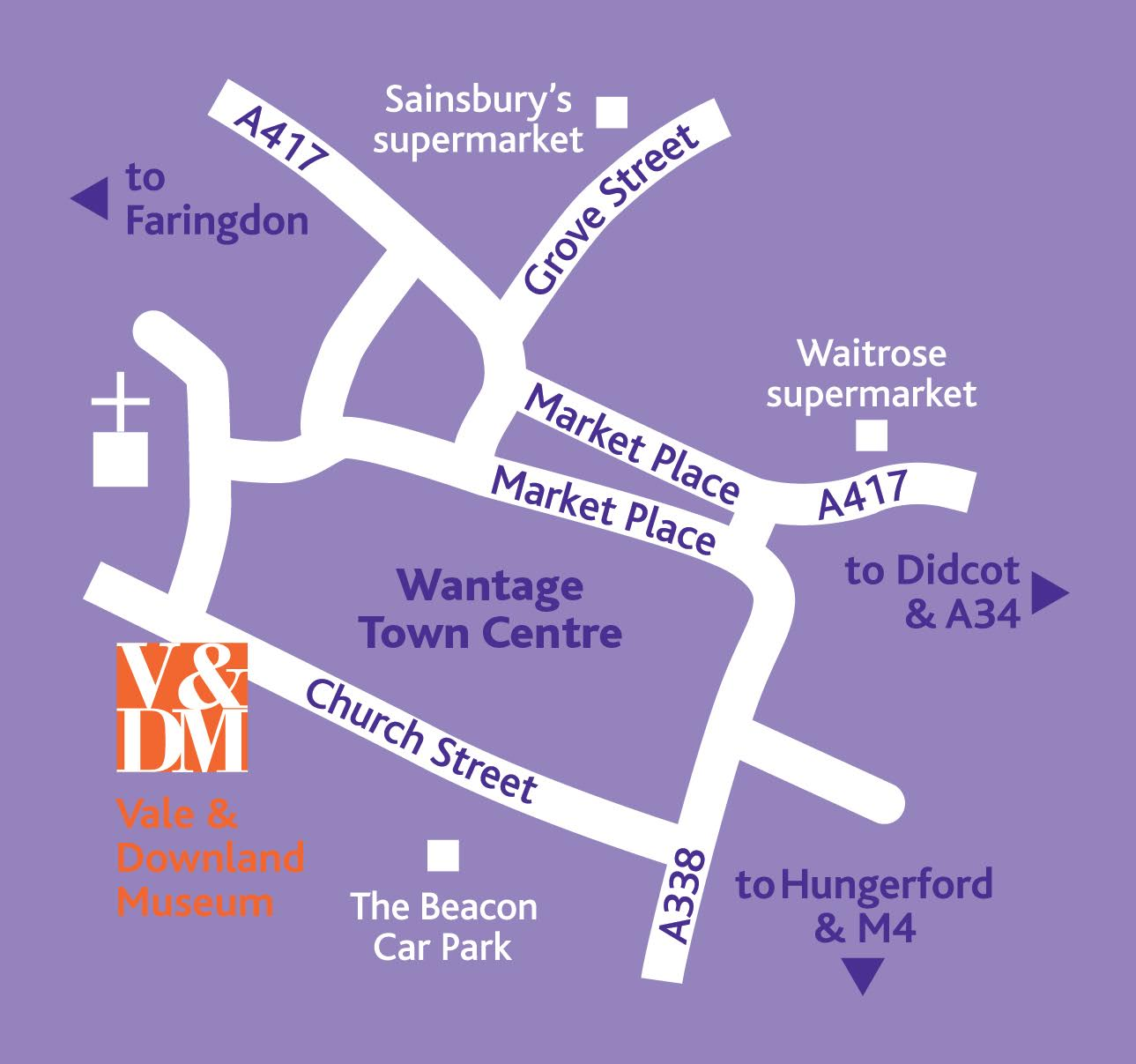 How to find the Vale and Downland Museum