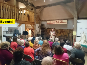 Wheelwright talk to Chilton WI-words
