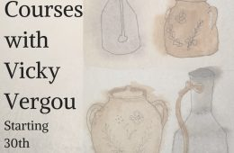 Art Courses with Vicky Vergou